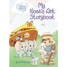 Carter Chaos review and giveaway (ends 3/9/16) of the Precious Moments My Noah's Ark Storybook. Just right for little hands!