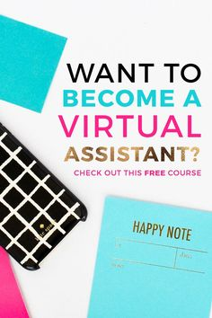 Interested in starting a virtual assistant business and making money from home? This is the course I took to become a VA and after one month of taking action, I made over $500 in client work. In this course, Gina helps you figure out your 'why', how to determine what services to offer, and how to pitch potential clients. If you want to make money from home or start a new side hustle as a VA, this is the perfect course to get you started. Click through to sign up for the free course today…