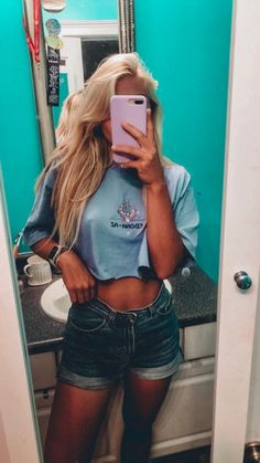 See more of content on VSCO. Catfish Girl, Teenage Dream, Girl Next Door, Stay Fit, Vsco, Summer Outfits, Dress Up, Crop Tops, My Style