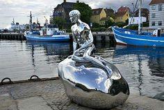 'Él' es el nombre que ha recibido el compañero de 'La Sirenita' de Copenhague
