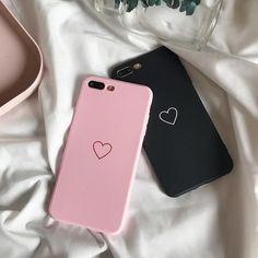 Fashion Soft Silicone Love Case For iPhone X 10 Ten 8 7 6 Plus Case Cover Phone Protector Coque Anti-Slip Fundas Black Diy Iphone Case, Cool Iphone Cases, Cute Phone Cases, Iphone Phone Cases, Samsung Cases, Iphone Case Covers, Funda Iphone 6s, Coque Iphone, Iphone 7 Plus