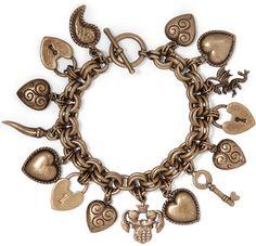 Etro - Gold-tone Charm Bracelet - one size