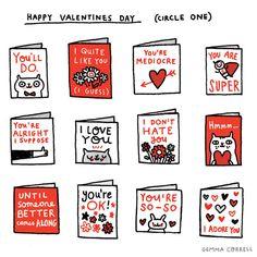 valentines (new version) by gemma correll