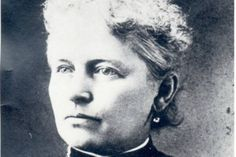 "On November 6th 1894 Helen Gougar went to vote in the presidential election. When she was prevented from voting she proceeded to sue Tippecanoe County.  She was admitted to the bar and argued for ""The Constitutional Right Of The women Of Indiana"" before the country court in 1895 and the state's supreme court in 1897.  She died in 1907. Women got the vote in the USA in 1920."