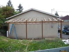 Lean to carport build - The Garage Journal Board