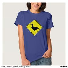 Duck Crossing Shirt - for the ducklovers out there.