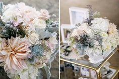 Flora Nova Design Seattle, best Seattle wedding flowers, Seattle event design, blush wedding flowers, blush wedding reception, reception dec...