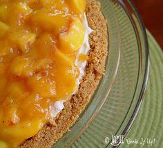 Fresh Peach and Cream Cheese Pie –