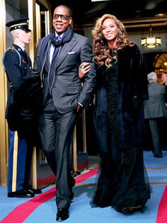 Talk about a grand entrance! Jay-Z and Beyonce turned heads at the Presidential Inauguration
