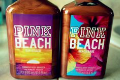 bronzing lotion by PINK?!?!?!