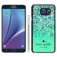 Amazon.com: Note 5 Case,Custom Design Kate Spade 161 Black Samsung Galaxy Note 5 Case: Cell Phones & Accessories