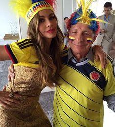 Sofía Vergara. Colombia please follow me,thank you i will refollow you later