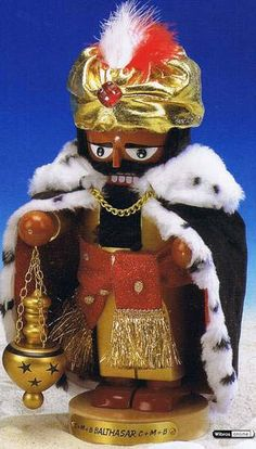 Nutcracker Balthasar (30cm/11.5in) - Limited Edition by Steinbach