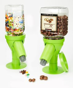 Party Green Snack Spout Dispenser - Set of Two by Snack Spout #zulily #zulilyfinds