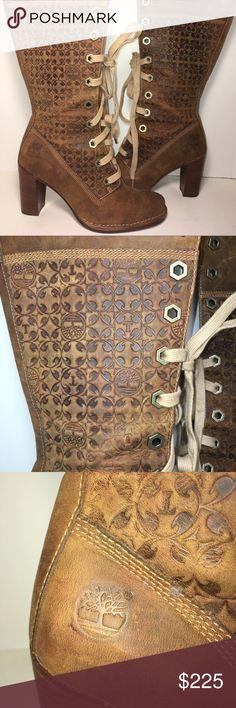 Women's Timberland Boots Heeled Rare Size 6M Women's Timberland Boots Limited Edition Rare To Find Size 6M Timberland Shoes Heeled Boots