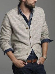 Stunning mens fashion 3266  mensfashion Cardigan Uomo 1e26dd0e11c
