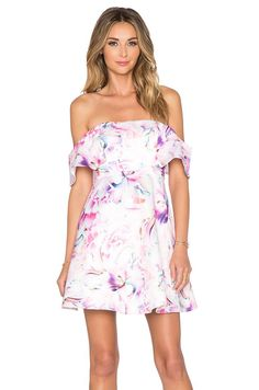 Revolve Bardot Lily Off Shoulder Dress
