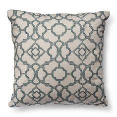 Threshold� Lattice Decorative Pillow - Teal