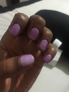 Lavender Gel Mood Change Polish