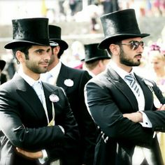 Sheikhs Majid and Mansoor