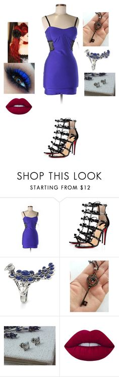"""redhead 1"" by cindy-morton on Polyvore featuring Forever 21, Christian Louboutin, Retrò and Lime Crime"