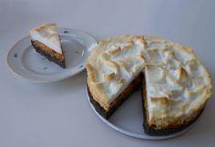 Habcsókos almás máktorta cukormentesen Paleo Sweets, Meringue, Paleo Recipes, Sugar Free, Pie, Cukor, Food, Poppy, Merengue