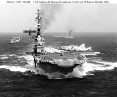 US Aircraft Carrier VIETNAM | USN Ships--USS Franklin D. Roosevelt (CVB-42, later CVA-42 and CV-42)