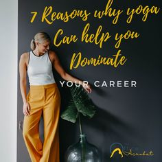 Learn how yoga can impact your career and overall success. #yogainspiration #yogafitness #yoga #career #careeradvice #careertips #successmindset #successfulwomen #theofficeacrobat #nostresszone