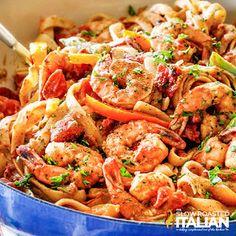 Cajun Recipes, Seafood Recipes, Pasta Recipes, Italian Recipes, Cajun Shrimp Pasta, Seafood Pasta, Cajun Dishes, Seafood Dishes, The Slow Roasted Italian