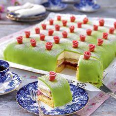 Recept på Prinsesstårta i långpanna från - Hemmets Journal
