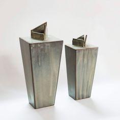 Handmade ceramic vase. #vaseflower #handmadevase #ceramicvase #potteryartist Handmade Ceramic, Handmade Gifts, Ceramic Vase, Clay Art, Flower Vases, Pottery, Ceramics, Unique Jewelry, Etsy