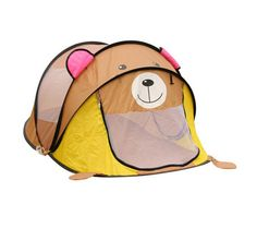 Children indoor kids play tent house made of polyestercan be small tigersmall puppy great gift idea for boys/girls easy set up and storage.  sc 1 st  Pinterest & 4-way Tunnel Kids Play Tents Pop Up Tube Design | pop up play tent ...