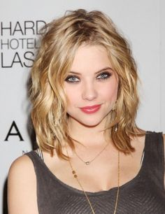 Hairstyles for Medium Length Hair,Messy Haircut
