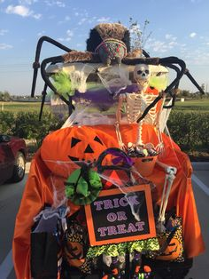 Trunk or Treat Golf Halloween, Halloween Camping, Halloween Parade, Disney Halloween, Holidays Halloween, Halloween Pumpkins, Halloween Crafts, Halloween Decorations, Halloween 2017