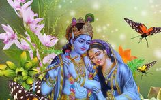 Radha and Krishna were considered soulmates. Find a collection of Radha Krishna images, wallpapers, paintings, love images, photos & their stories here. Radha Krishna Songs, Jai Shree Krishna, Krishna Gif, Lord Krishna Wallpapers, Radha Krishna Wallpaper, Shiva Wallpaper, Lord Krishna Images, Radha Krishna Images, Krishna Photos