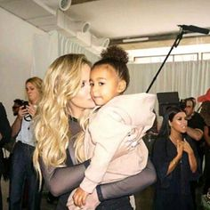 Khloe and North