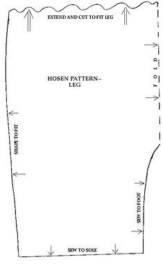 simple hosen pattern