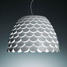 01 fontanaarte lampada sospensione Carmen. Designed by Hector Serrano