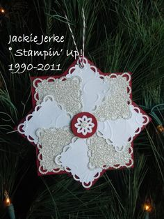 Ornament I made this past Christmas