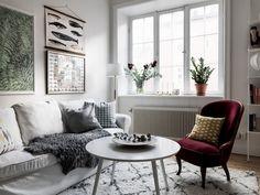 Un appartement nordique ultra confort | Madame Décore