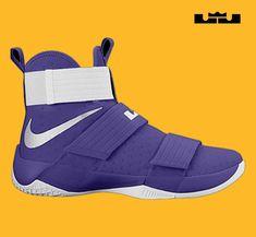 551c028c0b8a0 24 Men Nike Lebron Soldier X 10 White Black Basketball Shoes