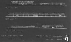 Phillis Wheatley Elementary School, New Orleans - architect Charles Colbert 1954