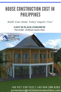 For Cast in Place (BUHOS) Type of Construction System our price for this services is PHP - per square meter, depends on the complexity of the project. Inquire more for details and free cost estimate and site inspection. Ready Mixed Concrete, Bag Of Cement, Baguio City, Construction Types, Cost Saving, Square Meter, Concrete Wall, Home Builders, Old Houses