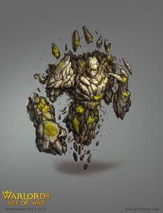 ArtStation - earth elemental, Ilya Abdrakhimov