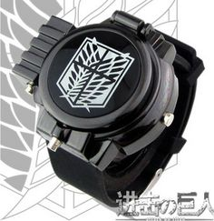 Attack On Titan Investigation Corps Alan Flip LED Watch