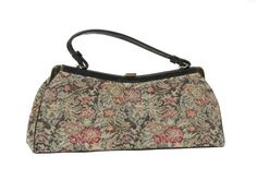 Vintage Tapestry bag by TanakaVintage on Etsy, $47.00