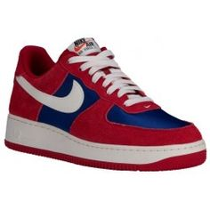 buy popular 0e8af f2160 Nike Air Force 1 Low - Men s - Basketball - Shoes - Gym Red Deep Royal Blue  Sail-sku 88298626