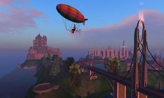 This large, whimsical, and eclectic Victorian steampunk community stretches over fifty regions in Second Life. Caledon Oxbridge is where new Residents arrive and is the gateway to Victoria City and the numerous towns and countryside beyond.