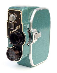 Bauer 88BSuper 8 Camera, 1954