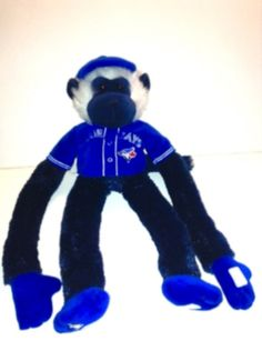 5724583270c Used Toronto Blue Jays Plush Jersey Rally Monkey By Forever Collectibles  for sale in London -